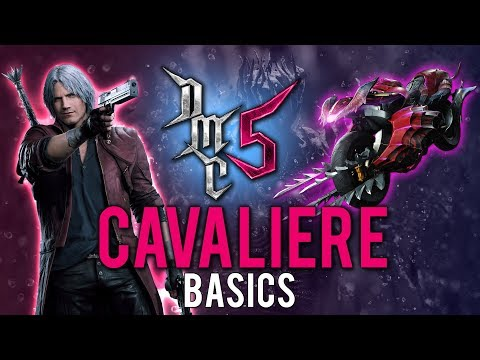 Devil May Cry 5 - Cavaliere Basic Tutorial - Demonic Horsepower thumbnail