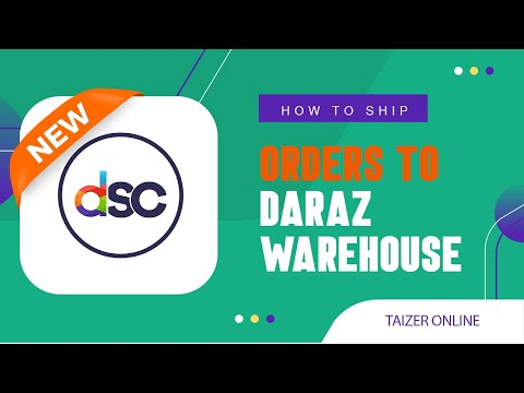How to ship order to daraz warehouse from sellers ||| Taizer Online ||| සිංහලෙන්