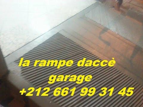 La Rampe DAcc Garage En Beton Decoratif Gsm