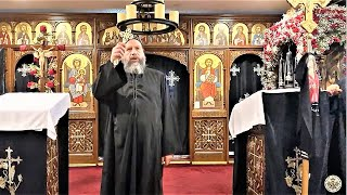 HG Bishop Youssef: Great Friday ~ Morning Pascha @ St Mary & St Moses Abbey, TX ~ 04/17/2020