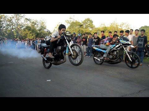 Ninja vs Rx king super kencang asap tebal