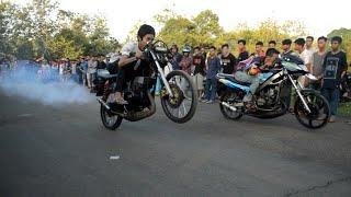 Ninja vs Rx king super kencang asap tebal