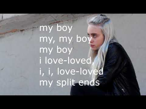 billie-eilish---my-boy-(lyrics)