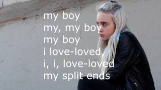 Billie Eilish - My Boy (Lyrics)