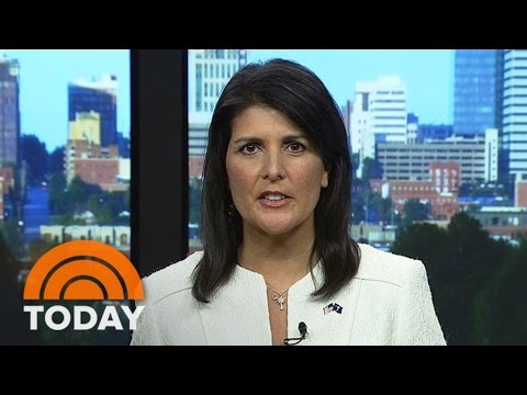 South Carolina Gov. Nikki Haley Talks Confederate Flag Removal | TODAY