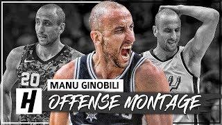 30 Minutes of Manu Ginobili LAST NBA Season - CRAZY Full Highlights 2017-18 (HD)
