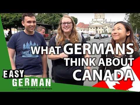 What Germans think about Canada | Easy German 206