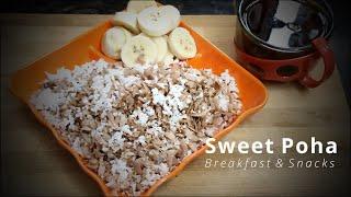 Sweet Poha Recipe   Tasty Morn…