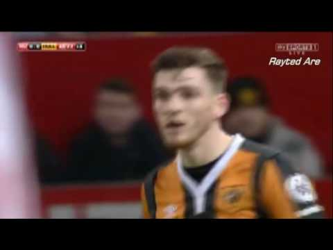Andrew Robertson (Hull) vs Manchester United (A) (16/17)