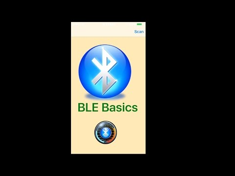 EVTV Friday Show - BLEBasics - My First iOS Application for Bluetooth
