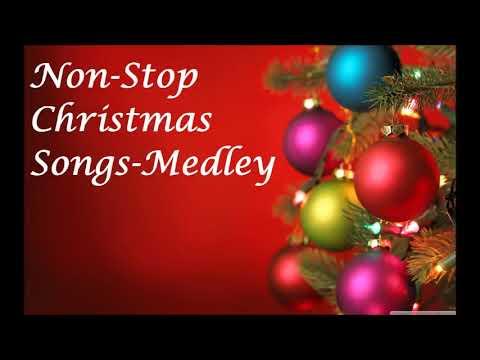 Non Stop Christmas Music.Non Stop Christmas Songs Medley