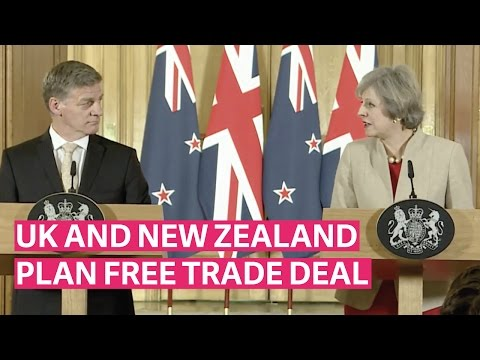 UK and New Zealand plan free trade deal