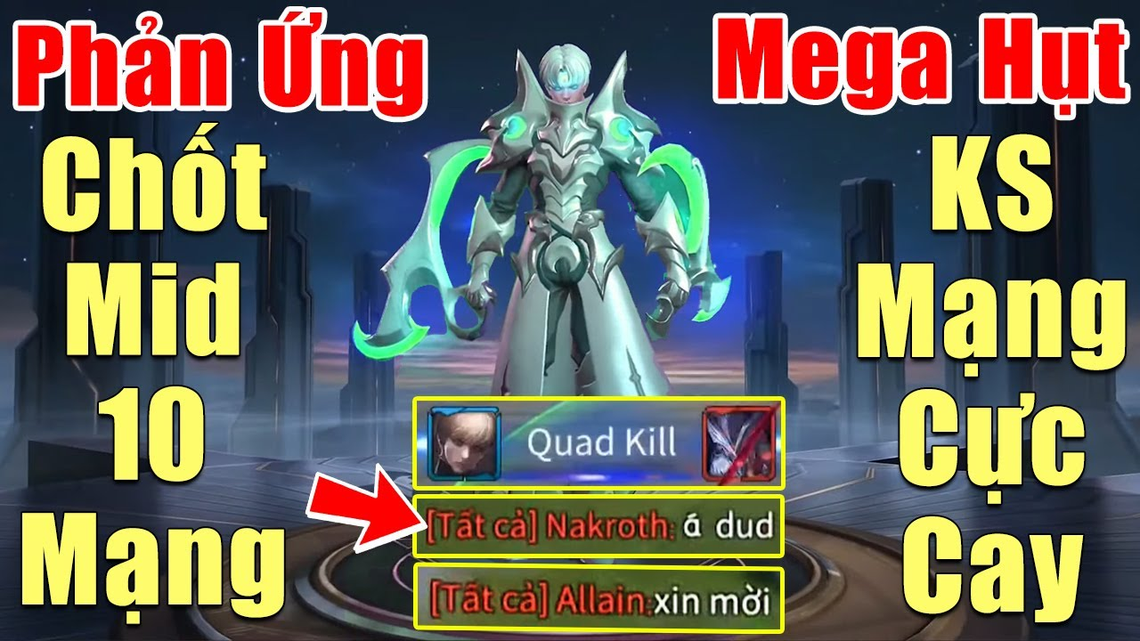 [Gcaothu] Phản ứng cực gắt sau khi tuyên bố chốt mid địch 10 mạng -Enzo bị ks mất Megakill đáng tiếc
