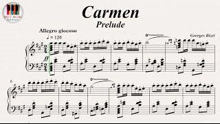 Video Carmen, Prelude (Les Toreadors)- GeorgesBizet, Piano download MP3, 3GP, MP4, WEBM, AVI, FLV September 2018