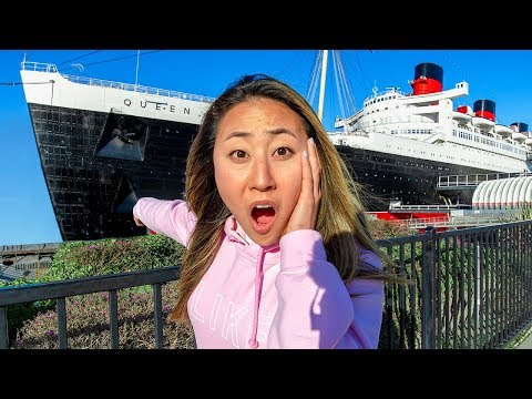 LAST TO LEAVE THE HAUNTED SHIP WINS $10,000!! (PART 1)