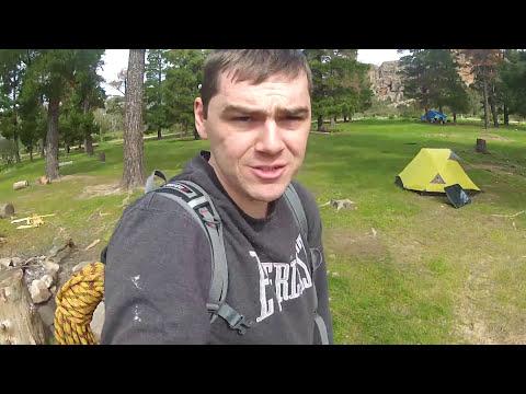 Rock Climbing at Mt Arapiles - Australia - Solo - Winter - 2013
