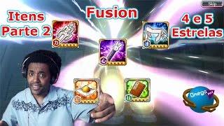 Fusion 4 e 5 Estrelas Guia Itens Parte 2 [Bleach Brave Souls] Omega Play