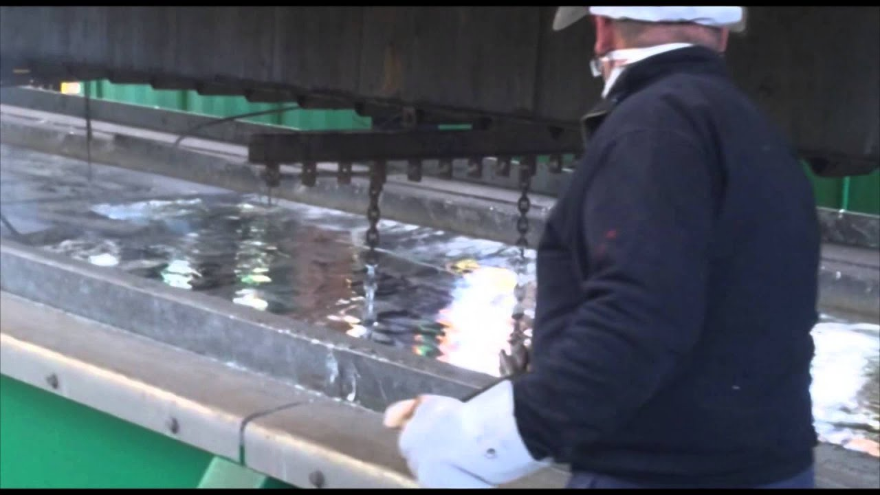 Vasca Da Bagno Di Zinco : La vasca di zincatura youtube