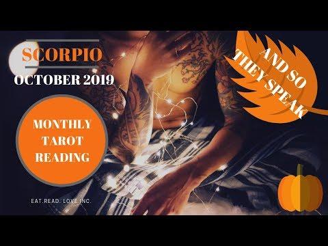 Free Tarot Scorpio Monthly October 12222