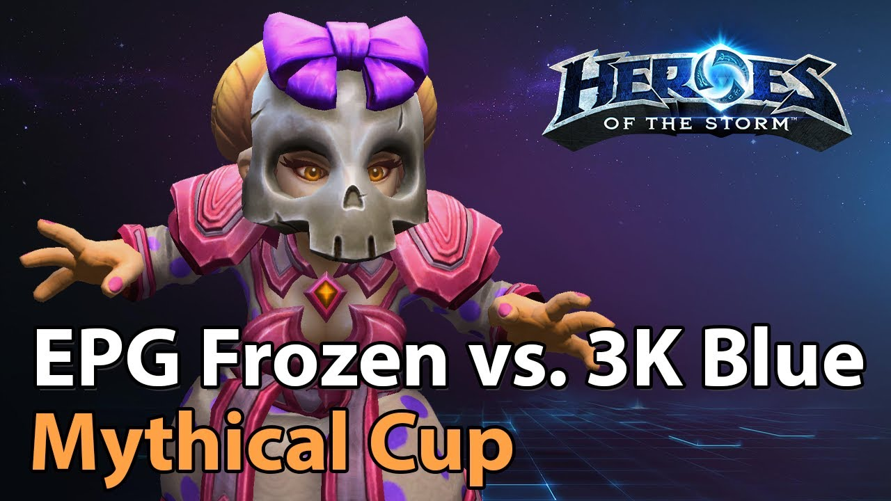 ► 3K Blue vs. EPG Frozen - Mythical Championship - Heroes of the Storm Esports