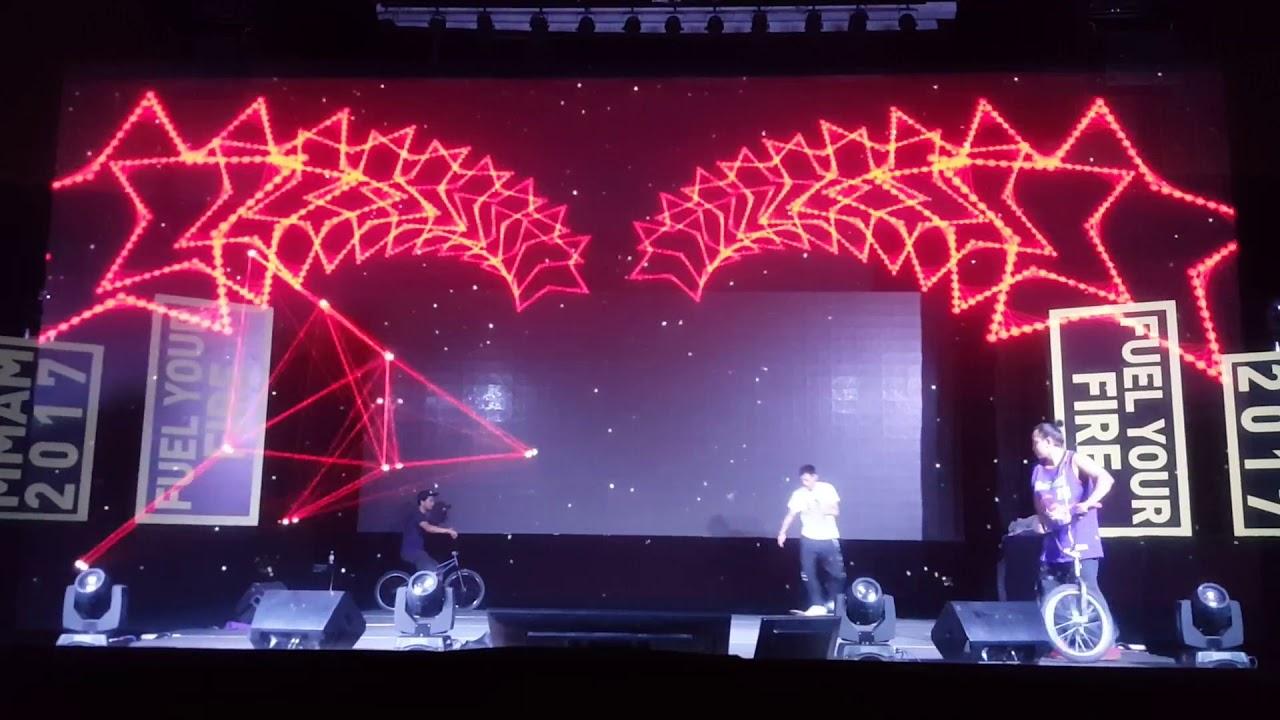 BMX Interactive Hologram Launch Gimmick Malaysia - YouTube