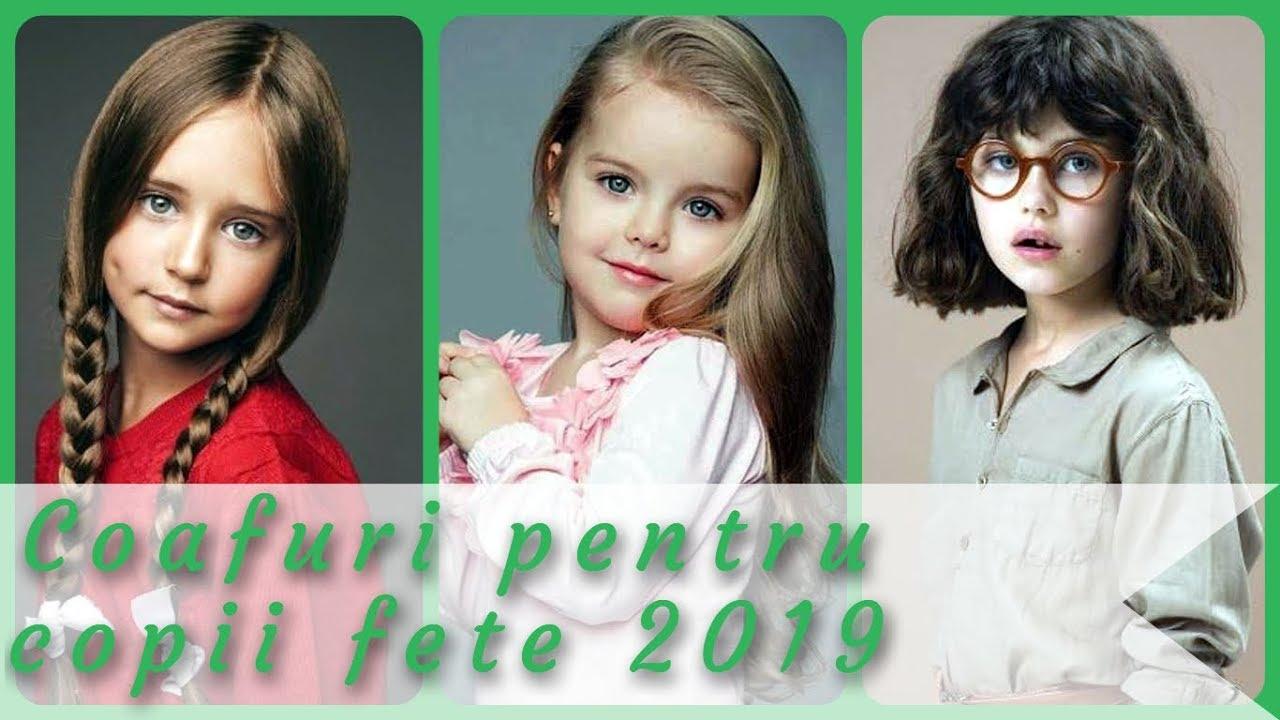 Top 20 Modele De Coafuri Pentru Copii Fete 2019 Youtube