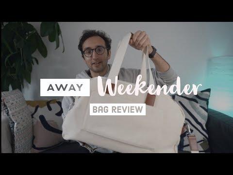 AWAY Weekender Bag Review
