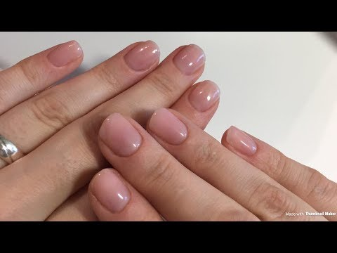 Natural Nails | einfache, schlichte und schnelle Nägel mit Gel