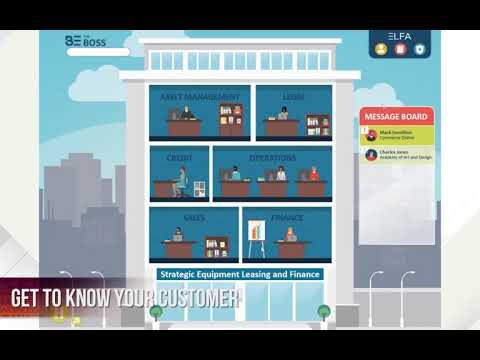 eLearning Game - Fundamentals of Equipment Leasing