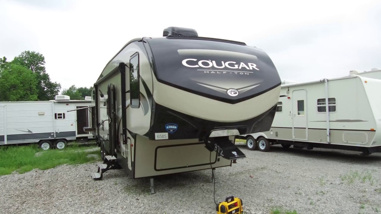 Half Ton Towable Fifth Wheels >> 2019 Keystone Cougar Half Ton Series 32bhs Fifth Wheel Walk Through