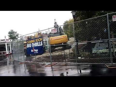 RIP King Chaos Fright Fest Six Flags Great America 10-14-17