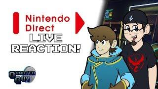 QG Reacts - Nintendo Direct 9/2018 w/Black Mage Maverick!