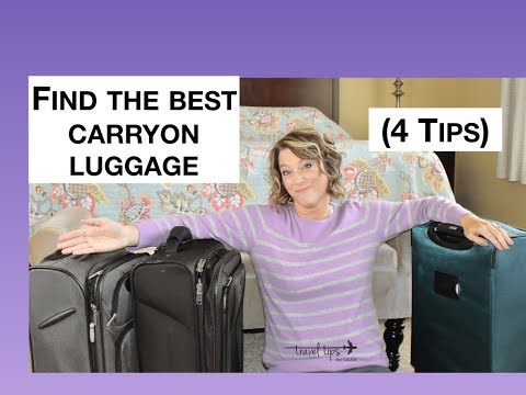 3 Carry-On Suitcases (4 Tips)