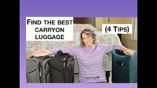 The Best Carry-On Luggage (4 Tips)