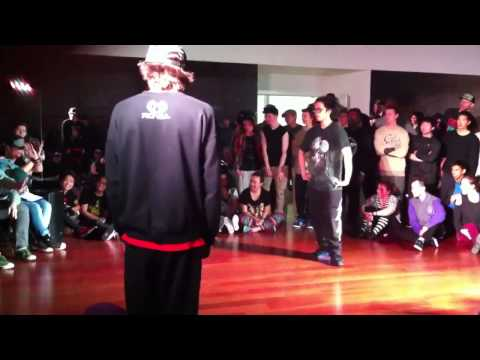 Moose Vs Shazam: SOULdiers all style battle 2013
