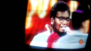 Gana dani | petta parak | sun tv show | with Vijay sethupathi Anna song |