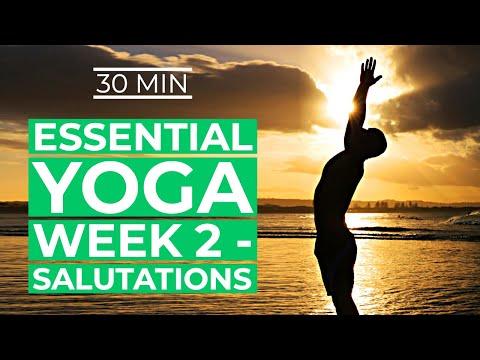 yoga for beginners yoga essentials week 2  sun