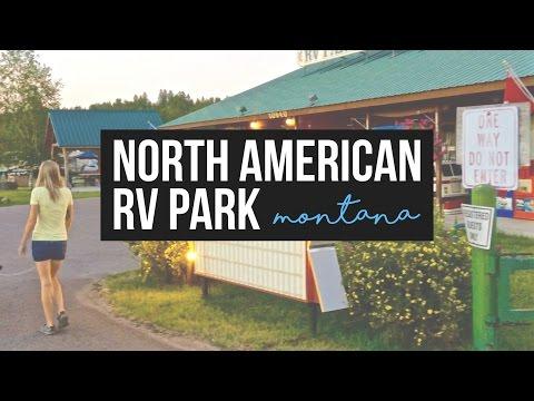 North American RV Park in West Glacier, Montana - a Drivin' & Vibin' Travel Vlog