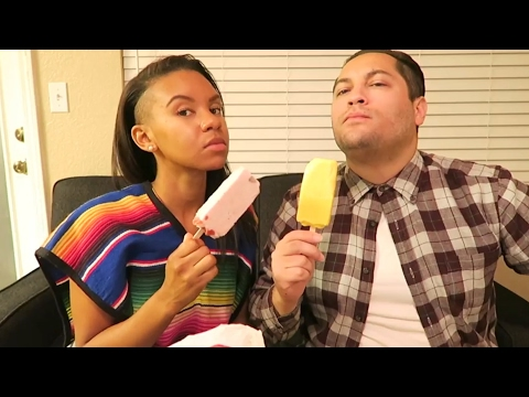 Black Girl Tries Mexican Candy W/ Mexican Husband