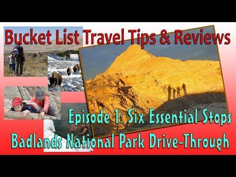 Six Essential Stops: Badlands National Park Drive-Through