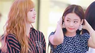 JENLISA moments (BLACKPINK) Lisa + Jennie - FOR YOU (Comeback moment 2018)