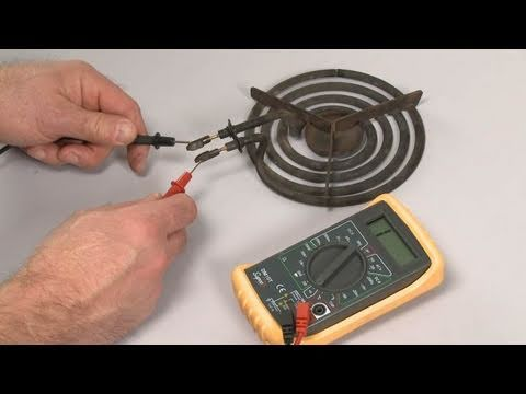 Burner Not Working? Coil Element Test – Electric Stove Repair