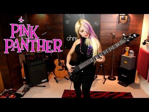 Como tocar La Pantera Rosa en BAJO   Tutorial Cover