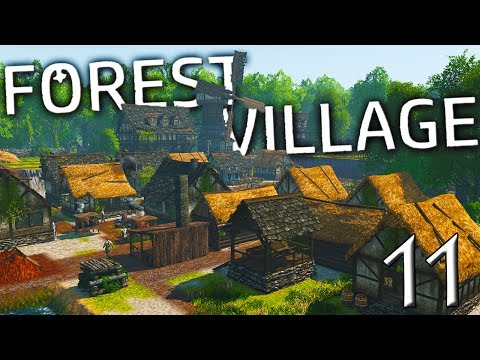 TAVERN, WINDMILL, BAKERY... AND YES, A SHIP!! | Life is Feudal  Forest Village Gameplay E11