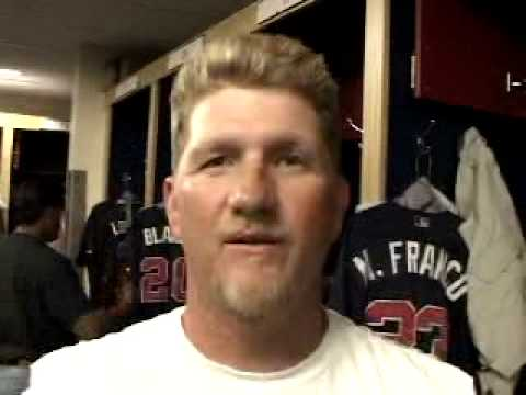 Atlanta Braves Matt Franco Interviewed By Mark Popper
