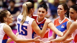 塞尔维亚女排名单出炉,两大将领衔出战,实力球员欲与朱婷抗衡!