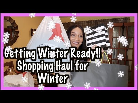 SHOPPING HAUL‼️ EDDIE BAUER HAUL‼️ WINTER COAT FOR CHICAGO ‼️