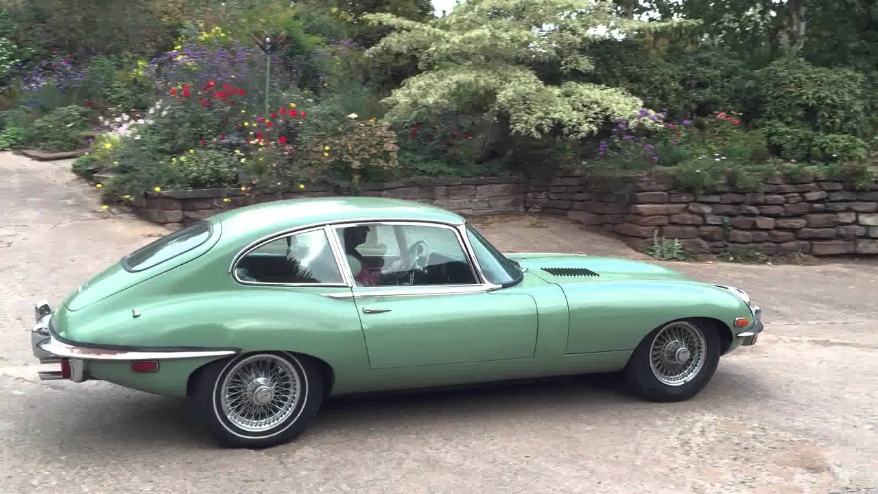 1969 jaguar e type 4 2 series 2 2 2 test drive youtube. Black Bedroom Furniture Sets. Home Design Ideas