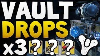 Destiny - VAULT HARD DROPS x3 (Week 4)