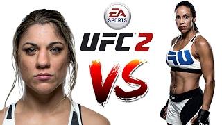 UFC 2 Vine 205 206 207 ● Бет Коррейя vs Марион Рено ● Correia vs Reneau